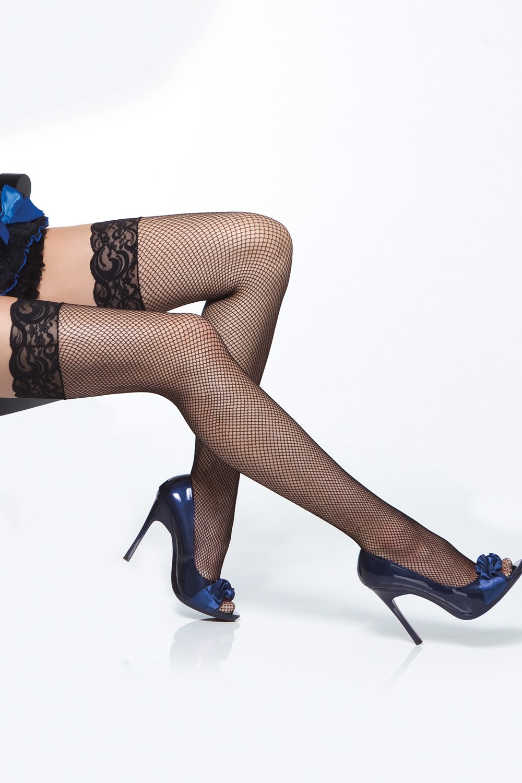 Mrežaste čarape za haltere 1732