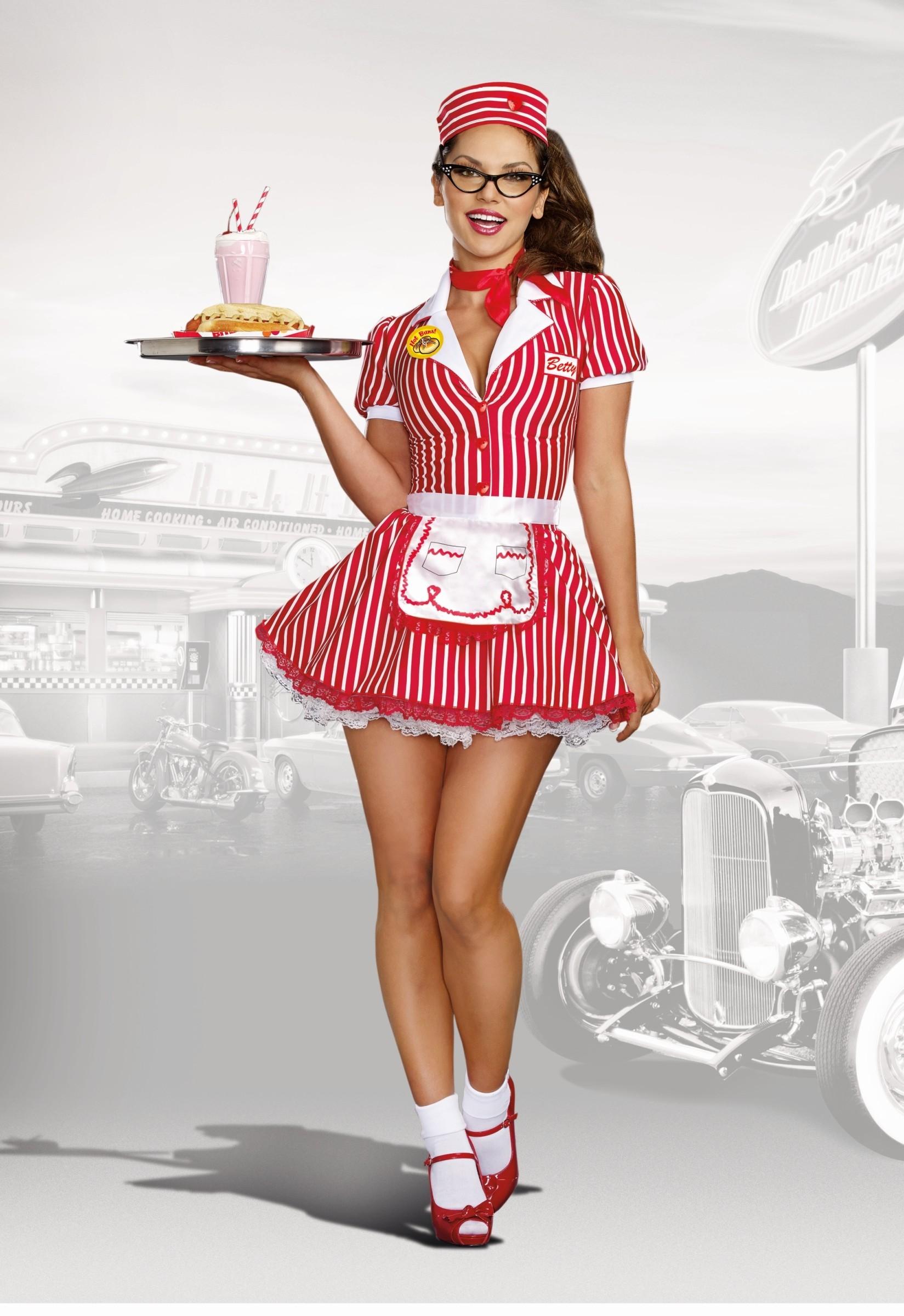 Retro konobarica 49975