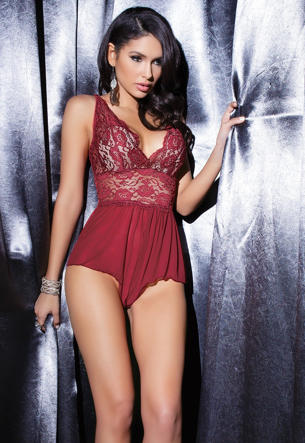 Seductive in Merlot bodi 7041