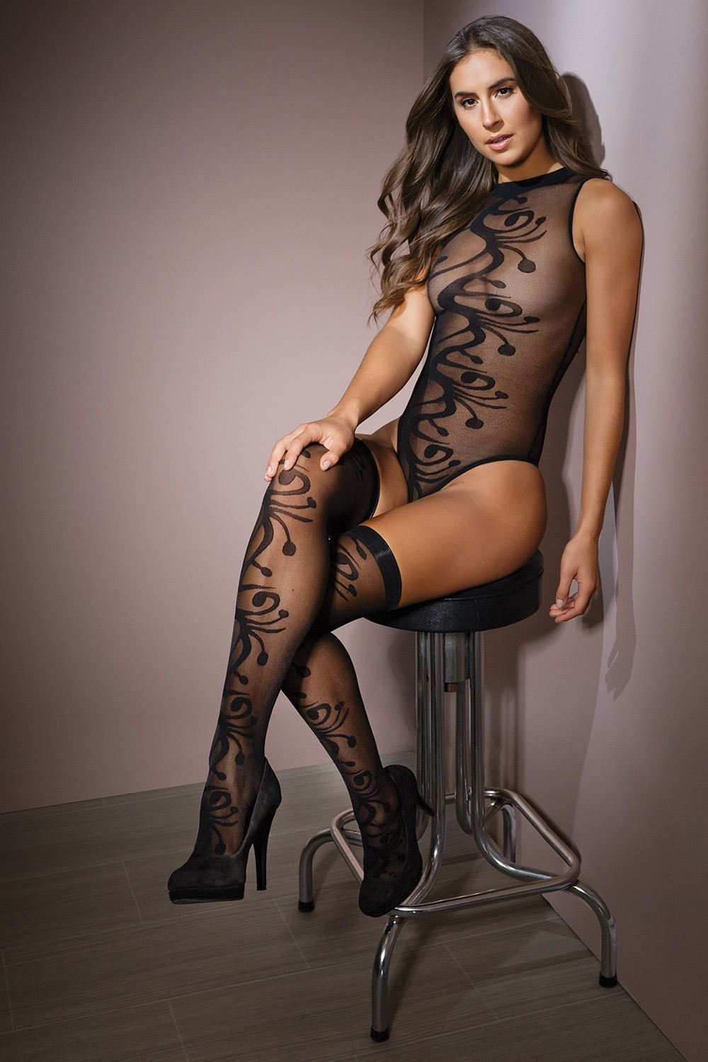 Teddy With Stockings 2554