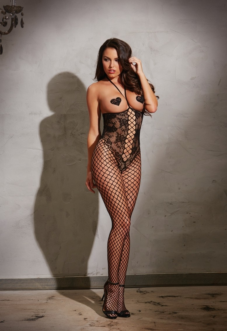 Open-cup bodystocking
